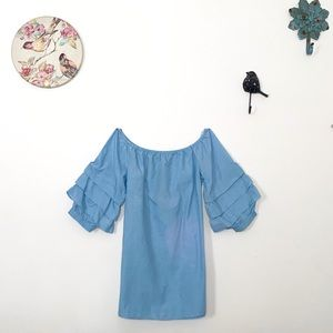 **NWT** Style Envy Cotton Off Shoulder Dress